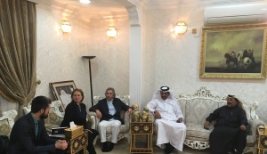 Visit of delegation of Russian – Arab Business Council to the State of Qatar.