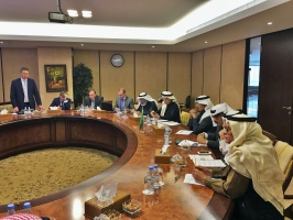 Visit of the delegation of Russian business circles to Riyadh.
