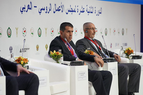 "PANEL SESSION: ""THE RUSSIAN-ARABIC PARTNERSHIP IN THE INDUSTRY"""