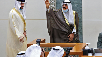 Kuwait's new emir names Sheikh Meshaal as new crown prince
