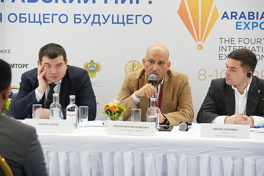 "ROUND TABLE: ""RUSSIAN TECHNOLOGIES IN THE FIELD OF WATER TREATMENT"""